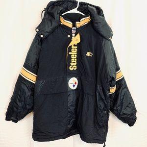 STARTER PRO LINE NFL Steeler's Jacket Pullover  L